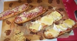 Du fromage fondu sur du pain, le rêve quoi !